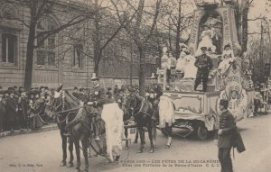 PARIS, France, 1905 ; Parade ; Les Fetes de La Mi-Careme