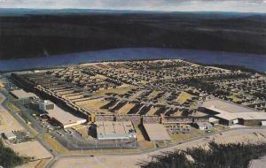 Alternate View, Aerial View, Ville de Fermont, Quebec, Canada, PU-1981