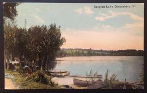 Caspian Lake, Greensboro, Vt. Divided Back