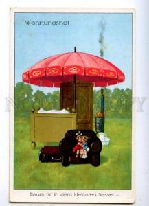 176912 Types of HOUSE Home LITTLE KIDS Umbrella Vintage PC