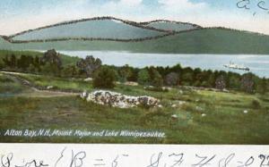 NH - Alton Bay. Mt. Major and Lake Winnipesaukee
