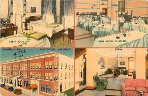 AR, Fayetteville, Arkansas, Mountain Inn Hotel, Multi View, MWM No. 2121