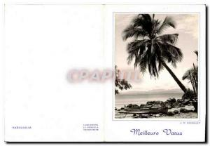 Postcard Modern Madagascar Best Wishes