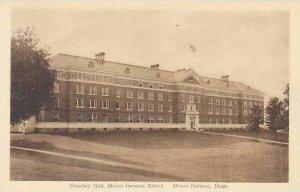 Massachusetts Mount Herman Crossley Hall Mount Herman School Albertype