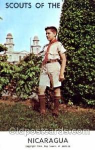Scouts Of The World, Nicaragua Scout Scouting Postcard Postcards Unused