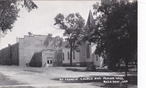 RP: NECEDAH , Wisconsin , 40-50s ; St Francis Church & Parish Hall