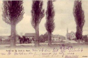 PARTIE BEI ST. JACOB BASEL SWITZERLAND 1905