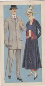 Brooke Bond Vintage Trade Card British Costume 1967 No 43 Day Clothes Circa 1916