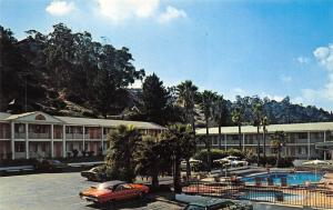 San Diego California 1960s Postcard Travelodge Mission Valley