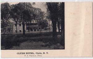 Clyde NY - Clyde Hotel