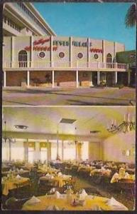 FL Ft Lauderdale Seven Pillars Restaurant 1969