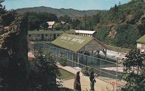 ID02 Lava Hot Springs, Mineral Water Health Baths, Idaho, Vintage Postcard