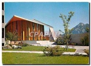 Modern Postcard Bethanien St. Niklausen Kirche mit Stanserhorn
