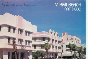 Old Vintage Postcards Art Deco Museum Miami Florida # 2076A