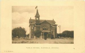 Glendale Arizona Postcard Public Schools Messinger 3821