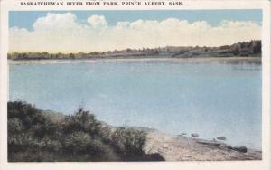 Saskatchewan River from Park , PRINCE ALBERT , SASK. , Canada , 1910s