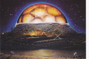 Art Postcard; Waiting for the Messiah in Jerusalem , 1988