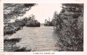 A67/ Bracebridge Ontario Muskoka Lake Canada Postcard Real Photo RPPC 1950
