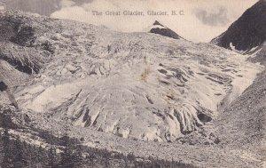 GLACIER, British Columbia, Canada, 1900-10s; The Great Glacier