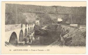 Arcy-sur-Cure,Yonne department in Bourgogne in north-central France,Ponts et ...