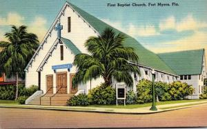 Florida Fort Myers First Baptist Church