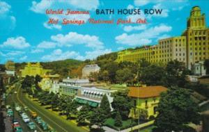 Arkansas Hot Springs National Park World Famous Bath House Row