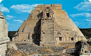 Mexico Templo del Adivino en Uxmal Yucatan Magician's Temple