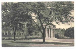 Front of Main Building Thru' Trees, State Teachers College, Buffalo, New York...
