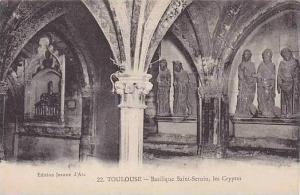 France Toulouse Basilique Saint Sernin les Cryptes