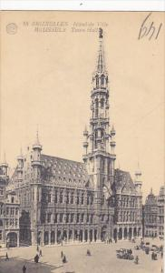 Belgium Brussels Town Hall