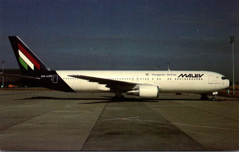 Malev Hungarian Airlines Boeing B-767-375-ER At Ferihey Airport Budapest Hungary
