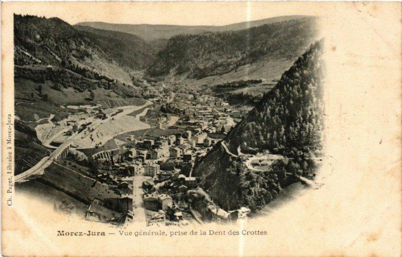 CPA MOREZ du Jura Vue générale prise de la Dent des Grottes (446944)