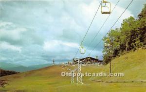 Looking Toward the Lodge at Ski Resort Gatlinburg, Tennessee, TN, USA Unused