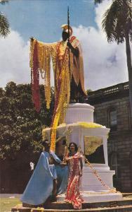 Kamehameha Statue, Hawaii , 1960
