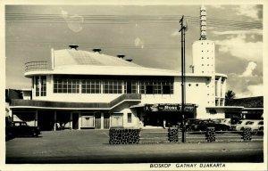indonesia, JAVA DJAKARTA, Bioskop Gathay Cinema (1958) RPPC Postcard