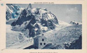France Chamonix Mont Blanc Cabane du Requin et aiguille du Geant