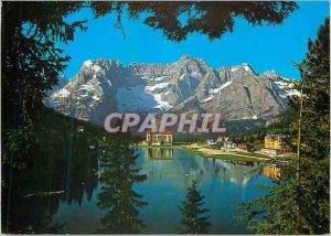 Postcard Modern Dolomiti Lago di Misurina m 1755