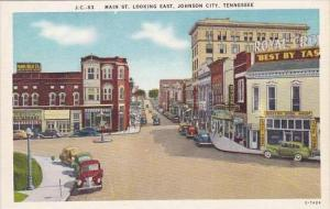 Tennessee Johnson City Main Street Looking East