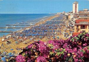 Italy Lido di Jesolo, La Spiaggia, The Beach Panorama La Plage