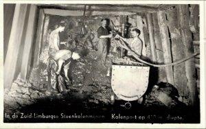 Netherlands Zuid Limburg Koolmijnen Coal Mines RPPC 4 Postcards Lot   01.18