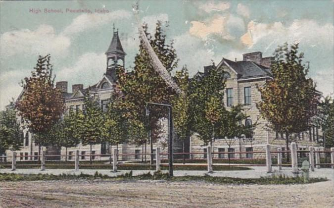 Idaho Pocatello High School 1910