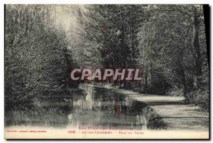 Old Postcard Ax Les Thermes Parc Du Teich