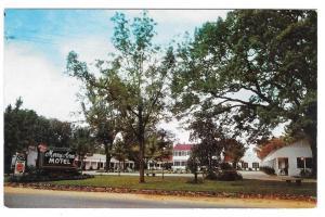 Albany Georgia Merry Acres Motel US 82 GA Vintage Postcard