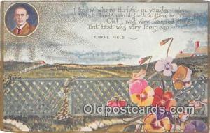 Postcard Post Card Eugene Field