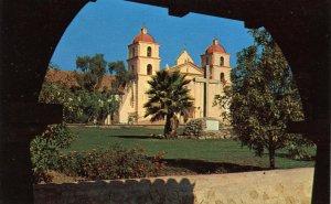 CA - Santa Barbara. The Mission
