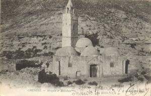 TUNISIE CPA CHENINT .-  Mosque & marabout  (148495)