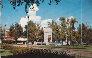 Cenotaph Honoring Canada's War Dead, Central Park, CALGARY, Alberta, Canada, ...