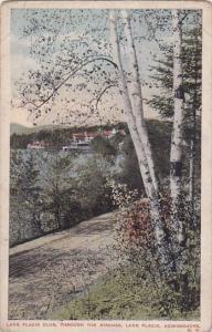 New York Adirondacks Lake Placid Club Through The Birches Lake Placid