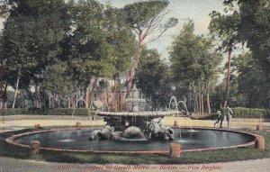 ROMA, Lazio, Italy, 00-10s; Fontana Deli Cavalli Marini, Bernini, Villa Borghese