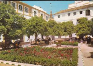 Spain Sevilla The Dona Elvira Square